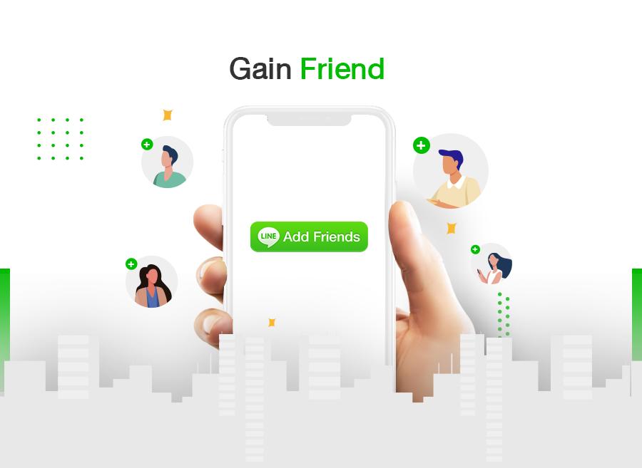 Line Gain Friend
